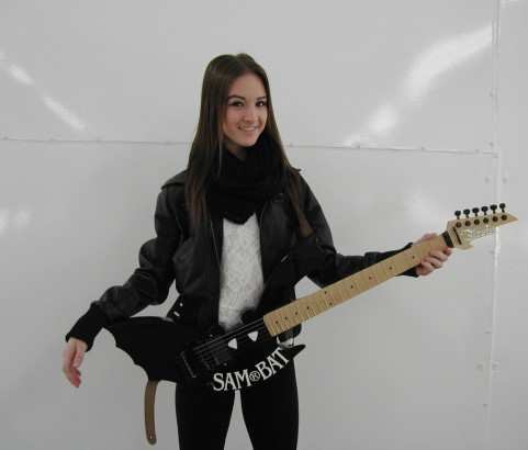 Sam Bat Guitar