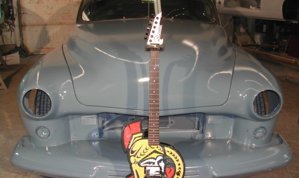 The Ottawa Senators Guitar