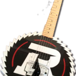 Official Ottawa Redblacks guitar