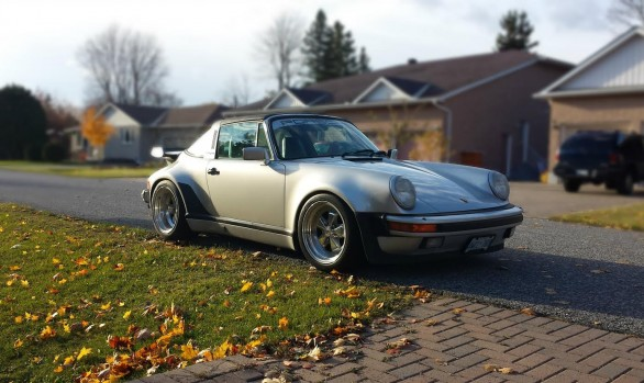 Porsche 911 Turbo Targa Conversion