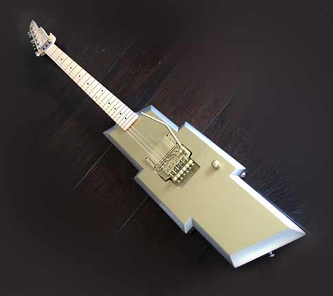 RtR 2015 - Chevy Bow Tie Electric Guitar