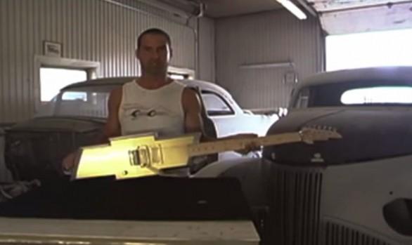 Race the Runway 2015 Chevy Emblem Guitar