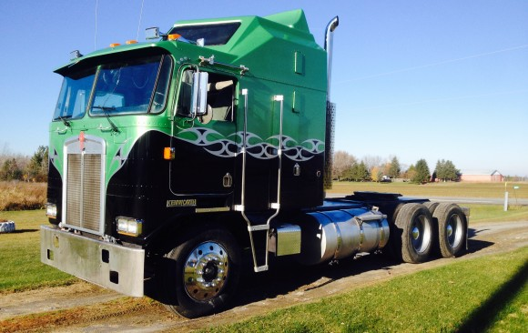 1985 Kenworth K100 Aerodyne - Full restoration